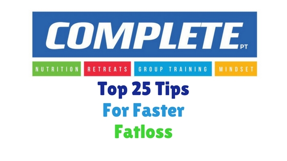 Top 25 Swaps For Faster Fatloss